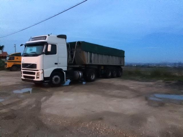 7 Metades Transportes Basculante 28 T